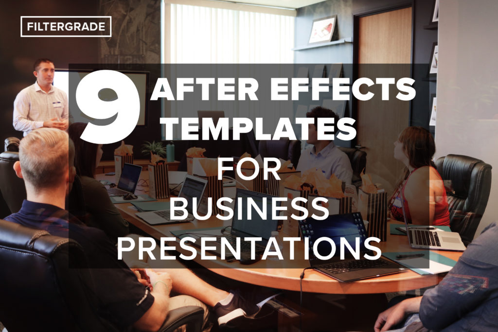 9 After Effects Templates for Business Presentations - FilterGrade