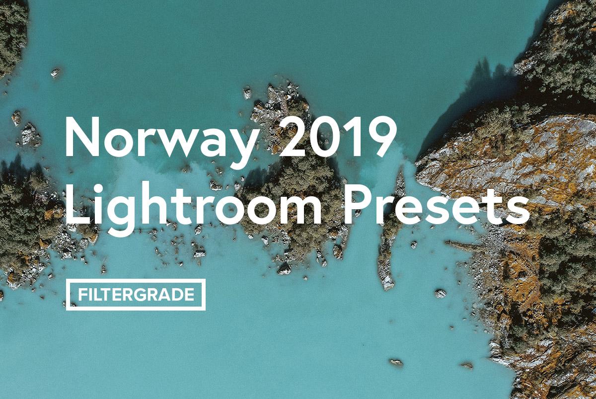 Norway 2019 Lightroom Presets