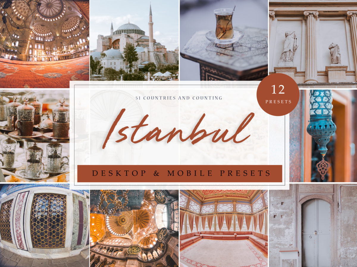 Istanbul Turkey Travel Lightroom Presets
