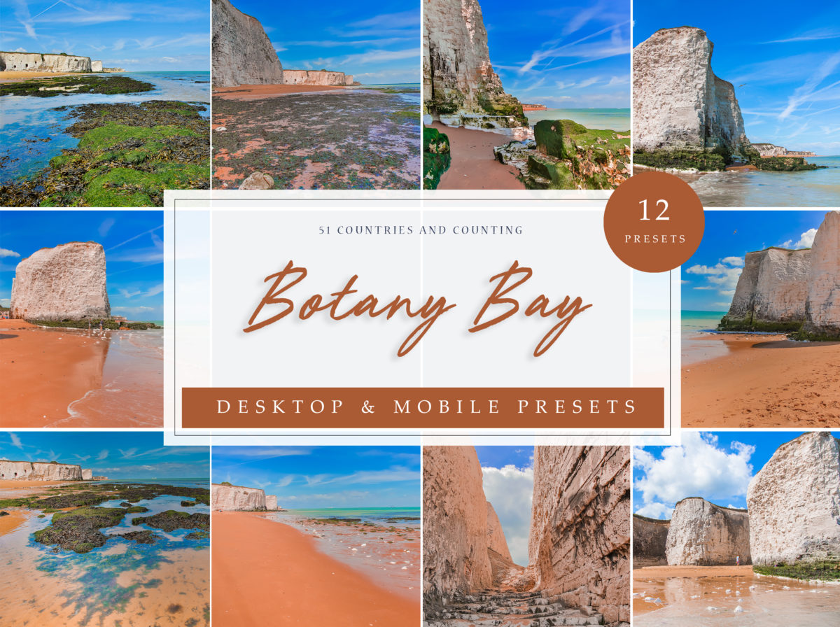 Botany Bay Travel Lightroom Presets