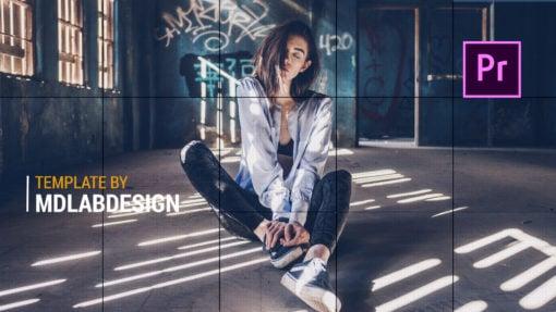 Linda - Fashion Slideshow Premiere Pro Template