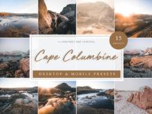 Cape Columbine Seascape Lightroom Presets