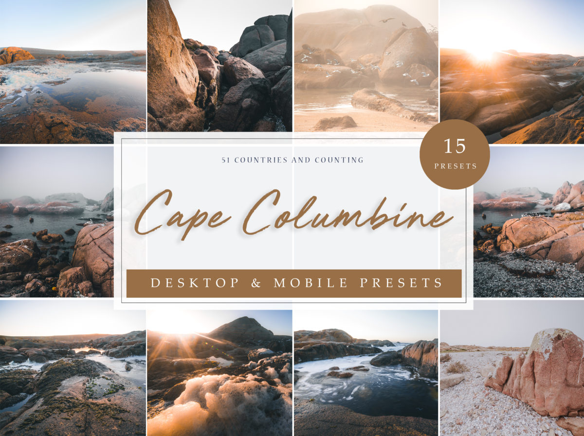 Cape Columbine Seascape Lightroom Presets
