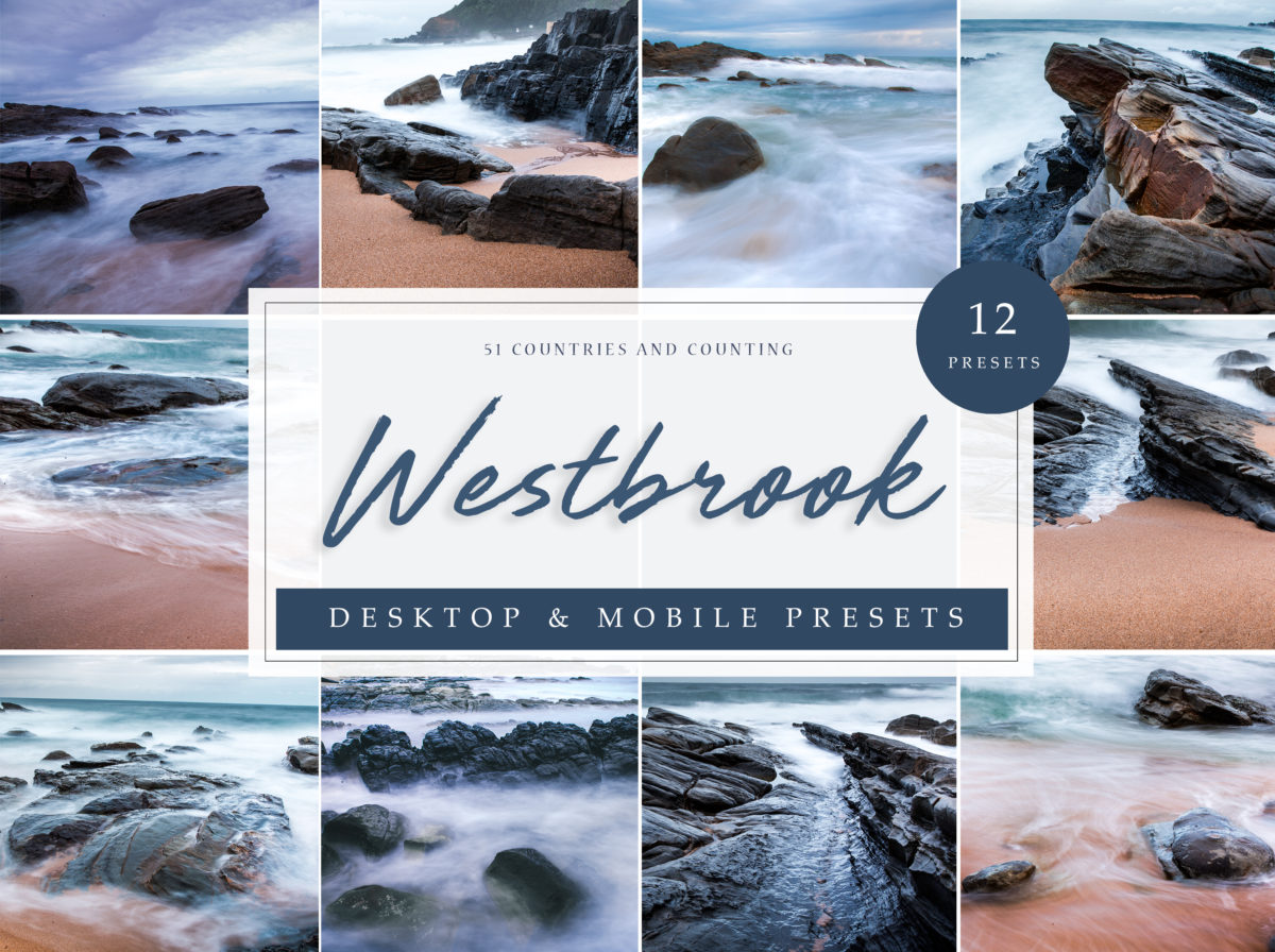 Westbrook South Africa Landscape Lightroom Presets