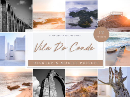 Vila Do Conde | Travel Lightroom Presets
