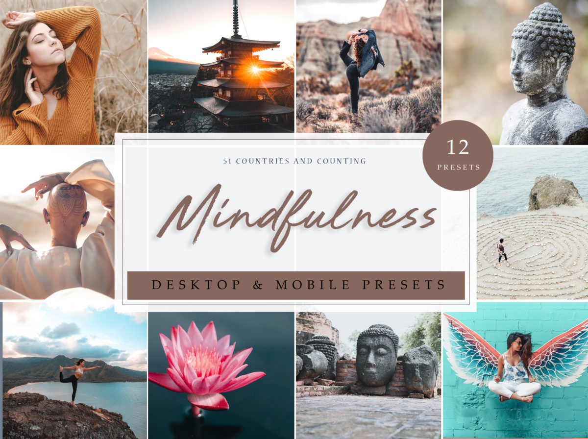Mindfullness Travel & Lifestyle Lightroom Presets