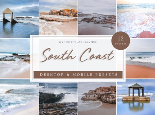 South Coast Oceanic Lightroom Presets