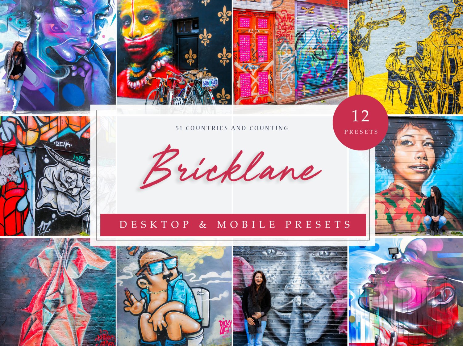 Bricklane Theme Street Art Lightroom Presets