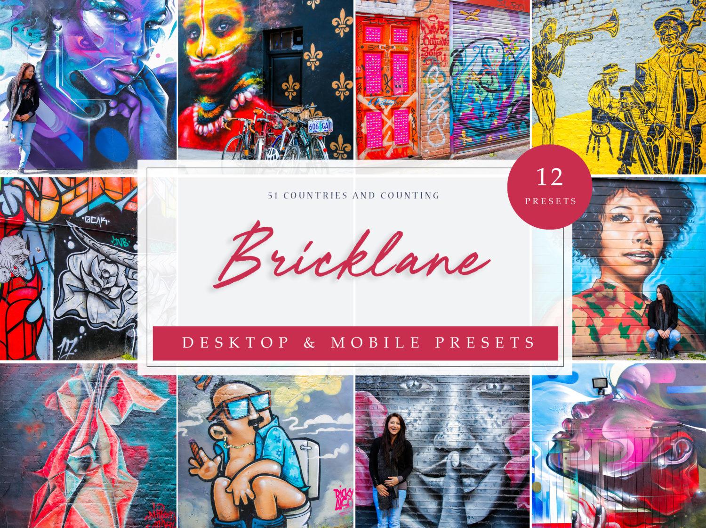Bricklane Theme Street Art Lightroom Presets