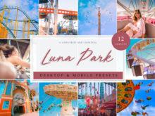Luna Park Carnival and Funfair Themed Lightroom Presets