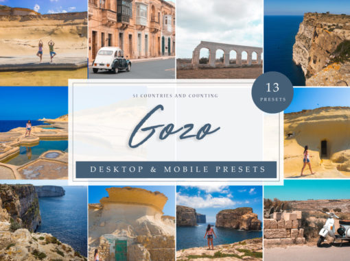 Gozo Seascape Lightroom Presets