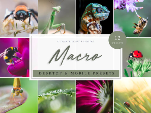 Macro Nature Lightroom Presets