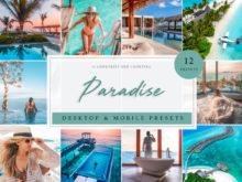 Paradise Travel Summer Lightroom Presets