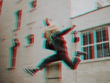 glitch action photoshop