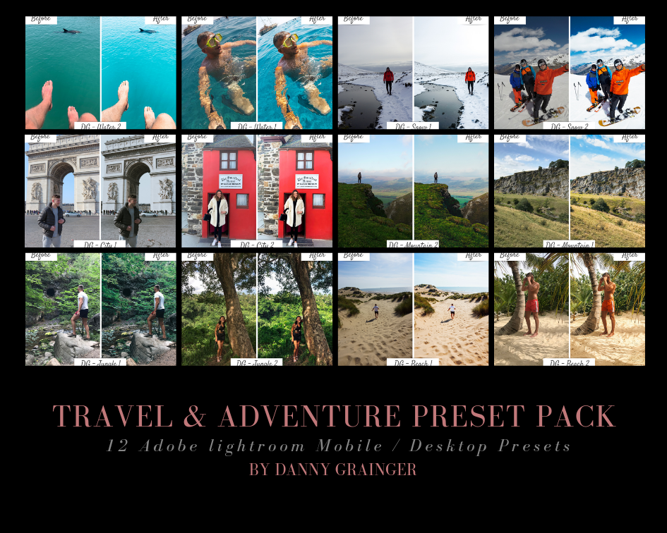 Danny Grainger Ultimate Travel and Adventure Presets Bundle