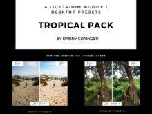 Danny Grainger TROPICAL PACK – Lightroom CC Desktop / Mobile Presets