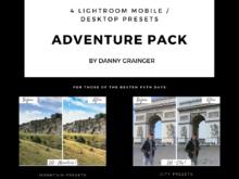 Danny Grainger ADVENTURE PACK – Lightroom CC Desktop / Mobile Presets