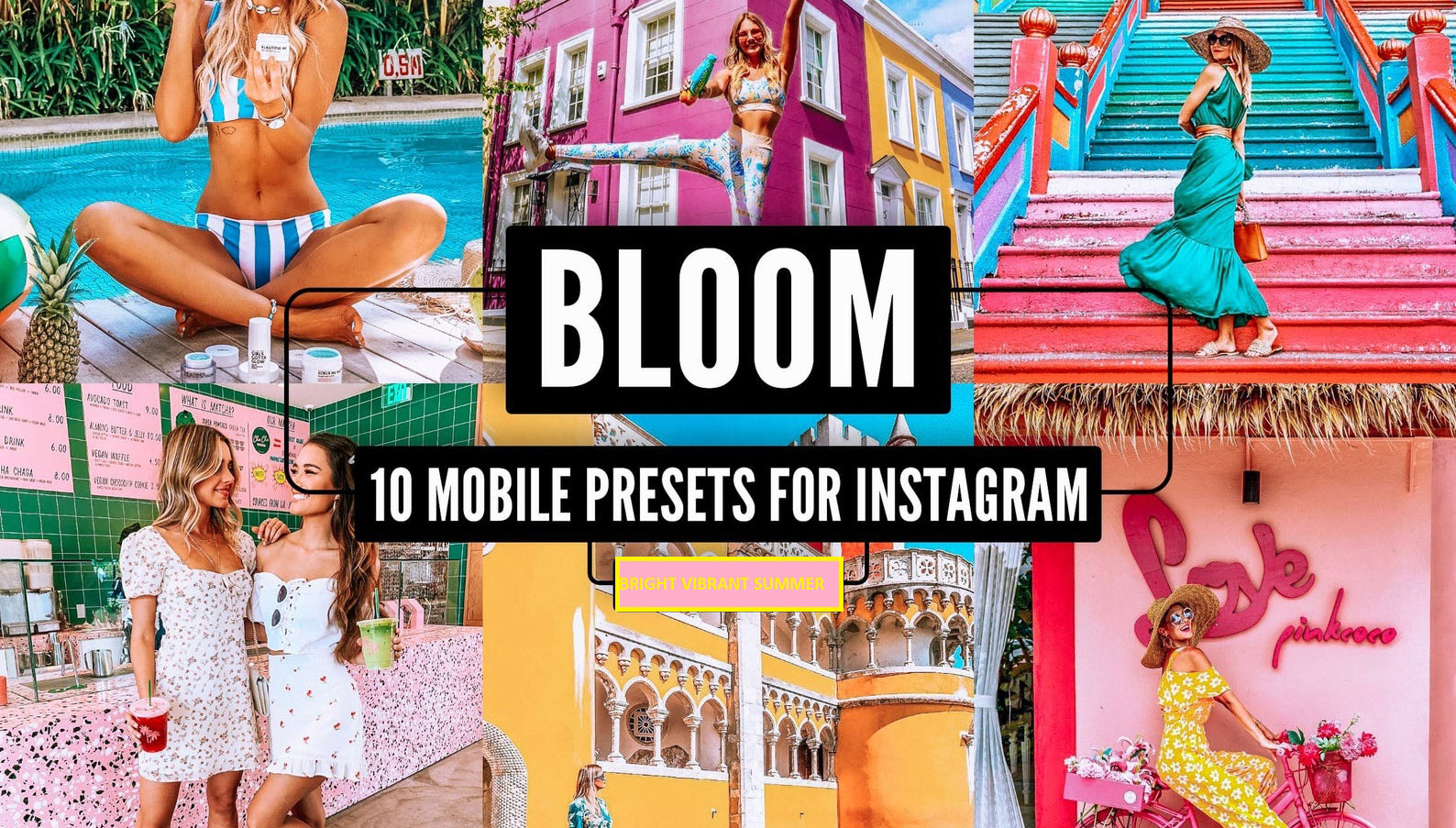 10 Vibrant Mobile Lightroom Presets for Travel Bloggers