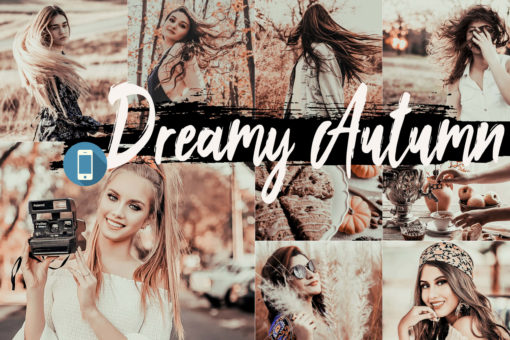 5 Dreamy Autumn Mobile Lightroom Presets