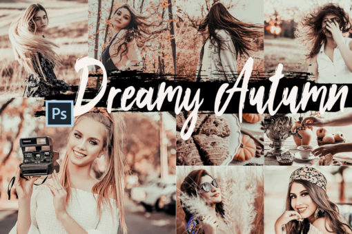 5 Dreamy Autumn PS Actions and LUTs
