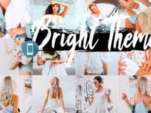 5 Bright Mobile Lightroom Presets