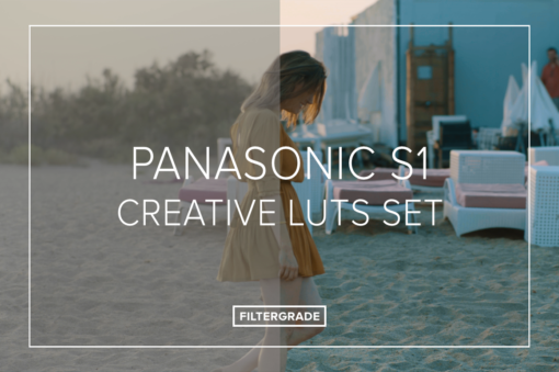 Panasonic S1 Creative LUTs Set