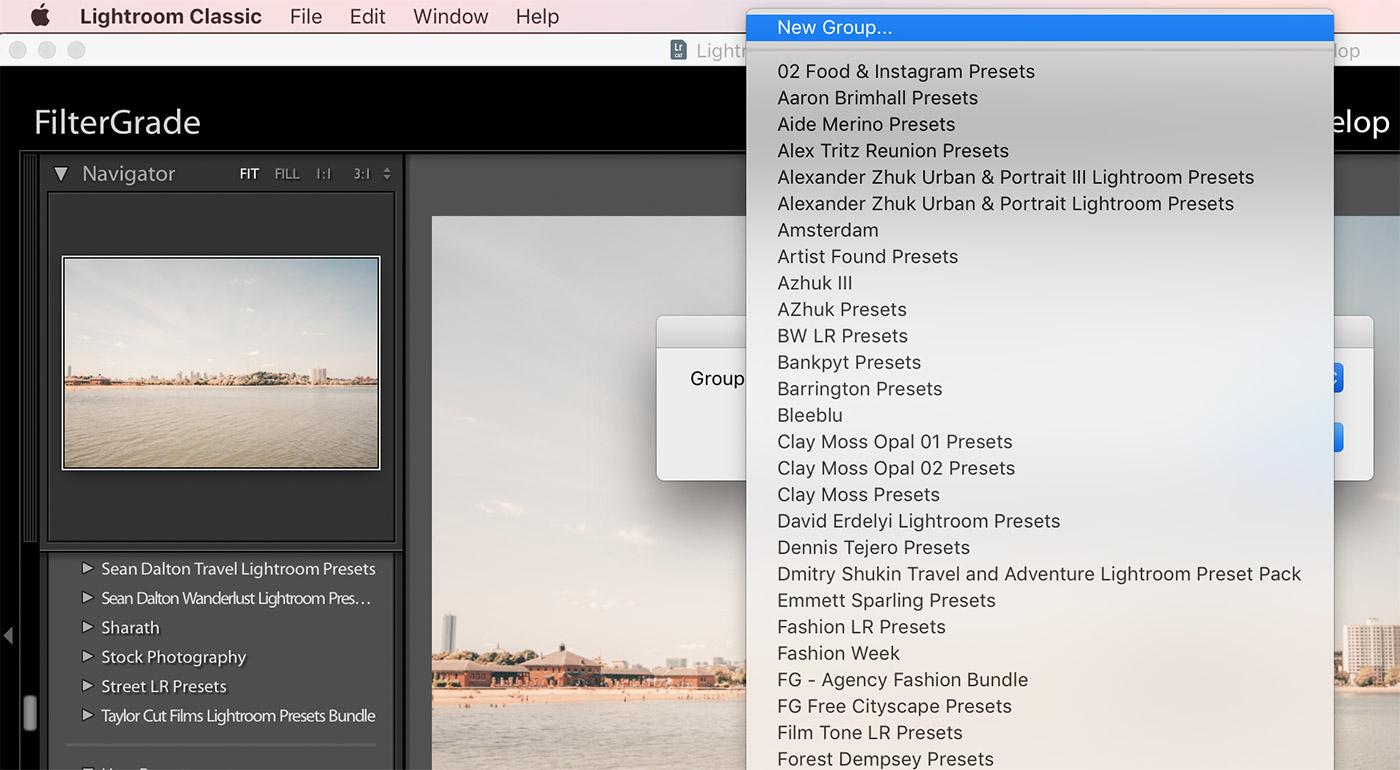 How to Create Preset Folders in Lightroom 20   FilterGrade