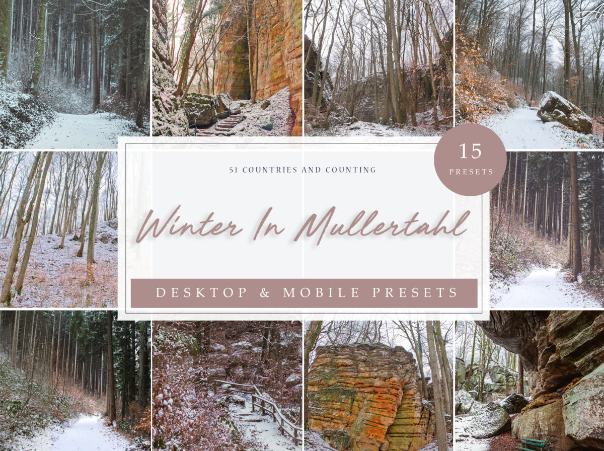 Winter in Mullertahl Lightroom Presets Collection
