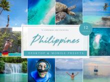 Philippines Vol. 1 Travel Blogger Lightroom Presets