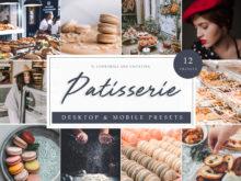 Patisserie France Inspired Lightroom Presets