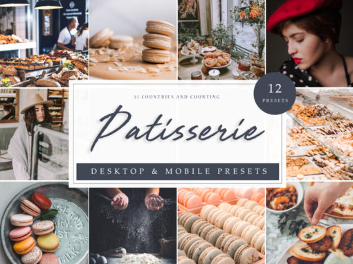 Patisserie France Inspired Lightroom Presets