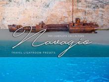 Navagio Travel Lightroom Presets Collection