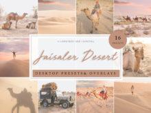 Jaisaler Desert Lightroom Presets & Photoshop Overlays Pack