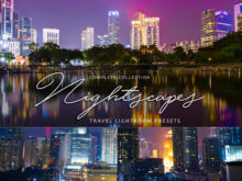 City Lightroom Presets | Nightscapes Vol. 1