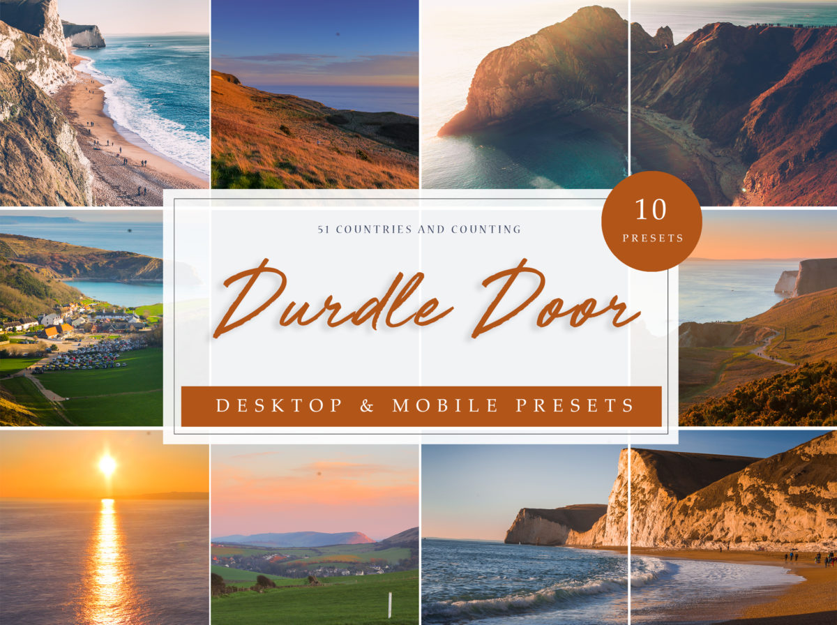 Durdle Door Seacape Lightroom Presets