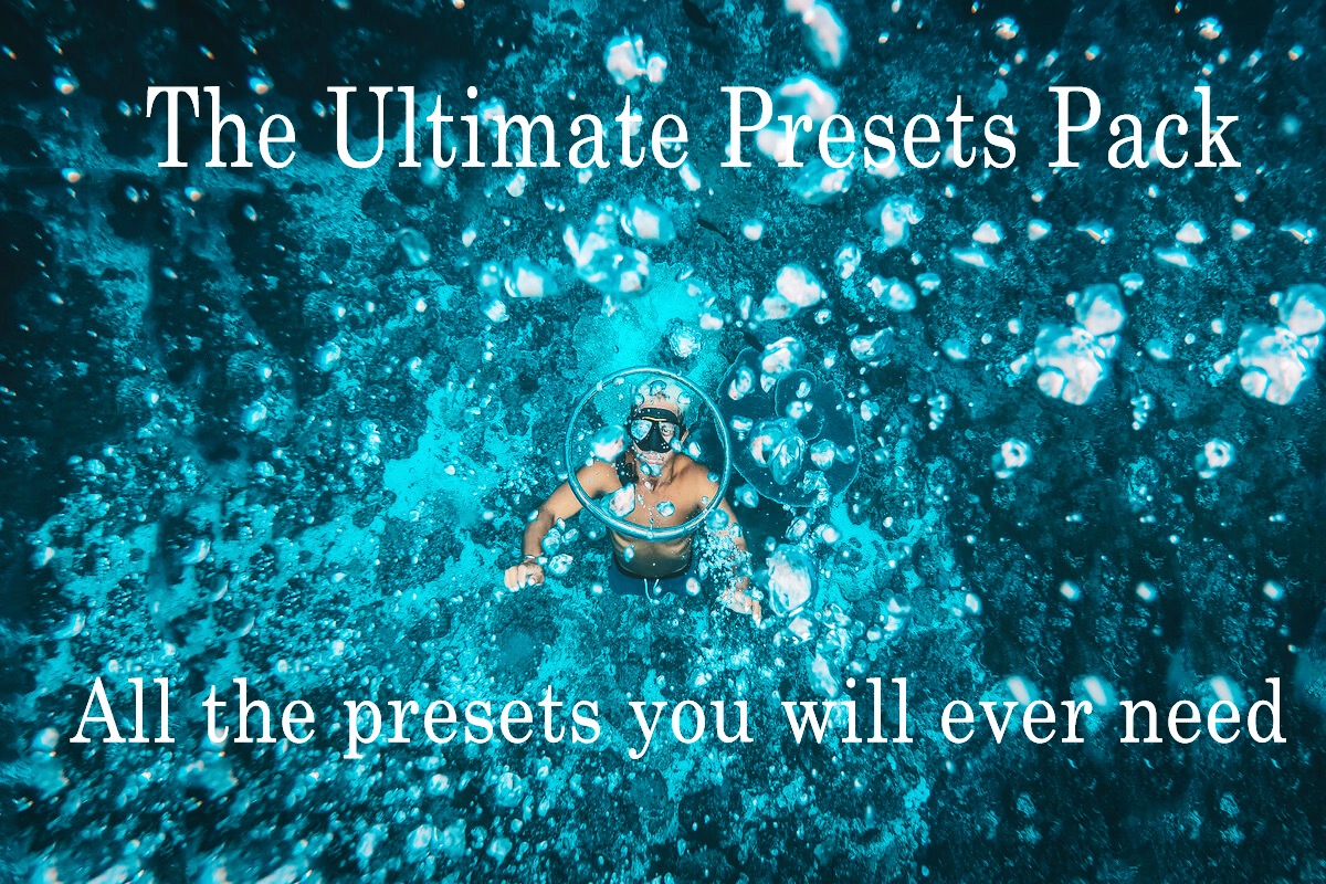 The Ultimate Presets Pack - All the presets you will ever need (Lightroom Desktop pack)
