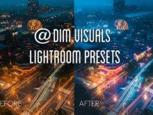 MOBILE + DESKTOP Lightroom Presets Bundle by @Dim.visuals