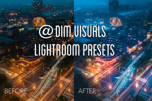 MOBILE + DESKTOP Lightroom Presets Bundle by @Dim.visuals
