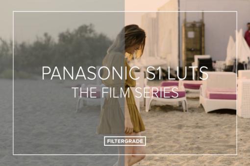 Panasonic S1 LUTs Set - The Film Series