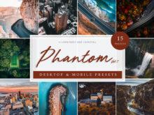 Phantom Drone and Aerial Lightroom Presets Vol 1