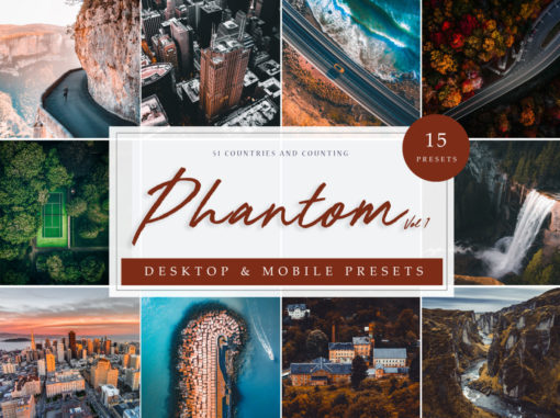 Phantom Drone and Aerial Lightroom Presets Vol 1