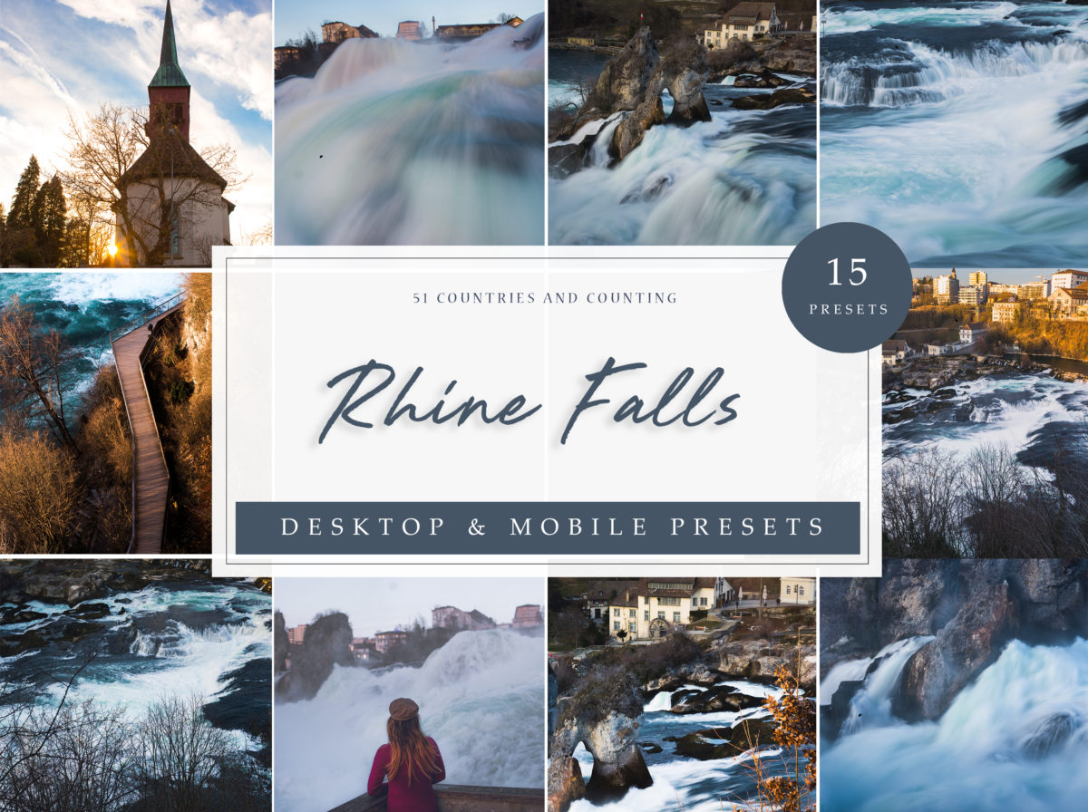 Rhine Falls Inspired Travel Presets Bundle
