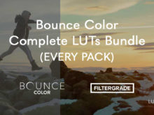 Bounce Color Complete LUTs Bundle (EVERY PACK)