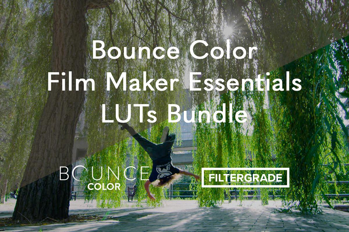 Bounce Color Film Maker Essentials LUTs Bundle