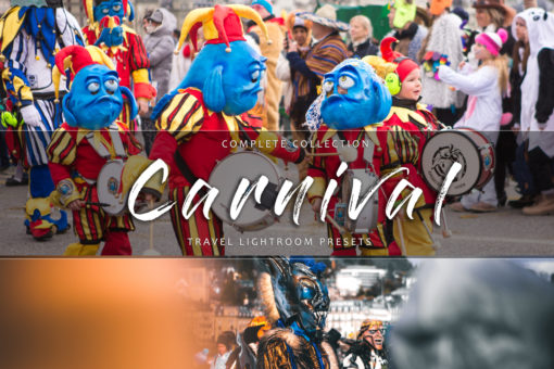 Carnival Theme and Outdoor Parade Lightroom Presets