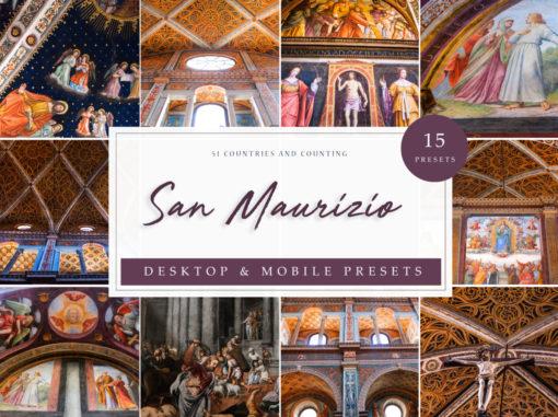 San Maurizio Interior + Architecture Lightroom Presets