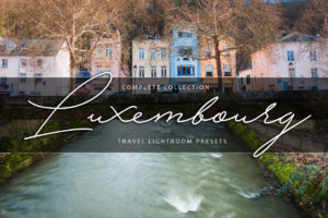 Luxembourg Urban + Cityscape Lightroom Presets