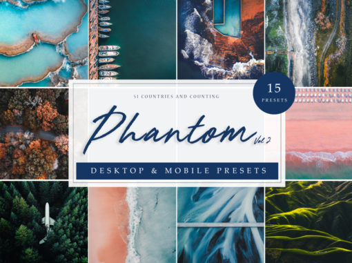 Phantom Drone and Aerial Lightroom Presets Vol. 2