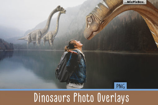 Dinosaurs Photo Overlays Pack