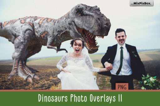 Dinosaur Photo Overlays v2